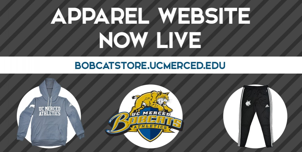 8146e022ca UC Merced Athletics recently launched a new and redesigned website, and now  we are excited to announce our new online sports apparel store.