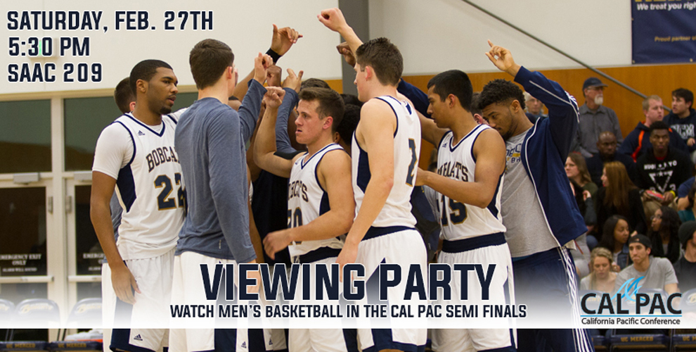 Photo for Men's Basketball Cal Pac Tournament Viewing Party