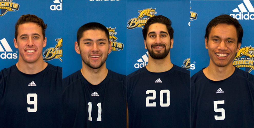 Photo for Men's Volleyball Players Named All-Conference