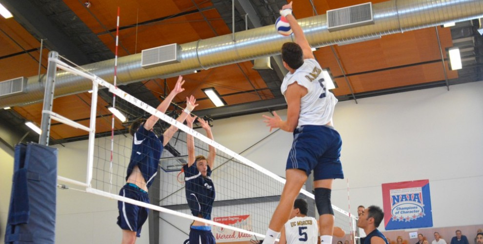Photo for Men's Volleyball Falls Twice To Hope