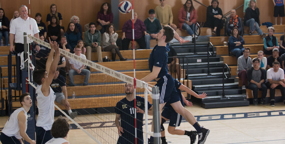 Photo for Men's Volleyball Flies Past Regis College In Three