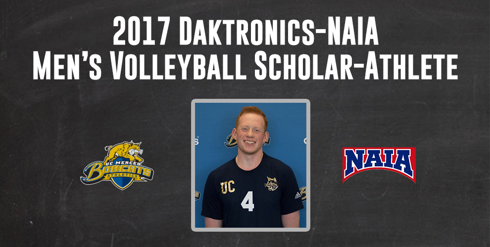 Photo for Ben Nilsen Named Daktronics-NAIA Men's Volleyball Scholar-Athlete