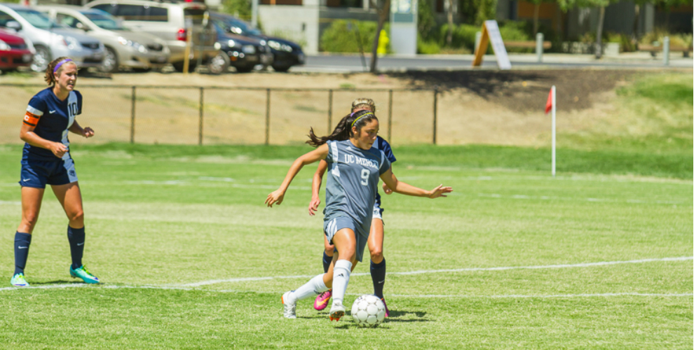 Photo for Women's Soccer Ties Master's 0-0 In Season-Opener