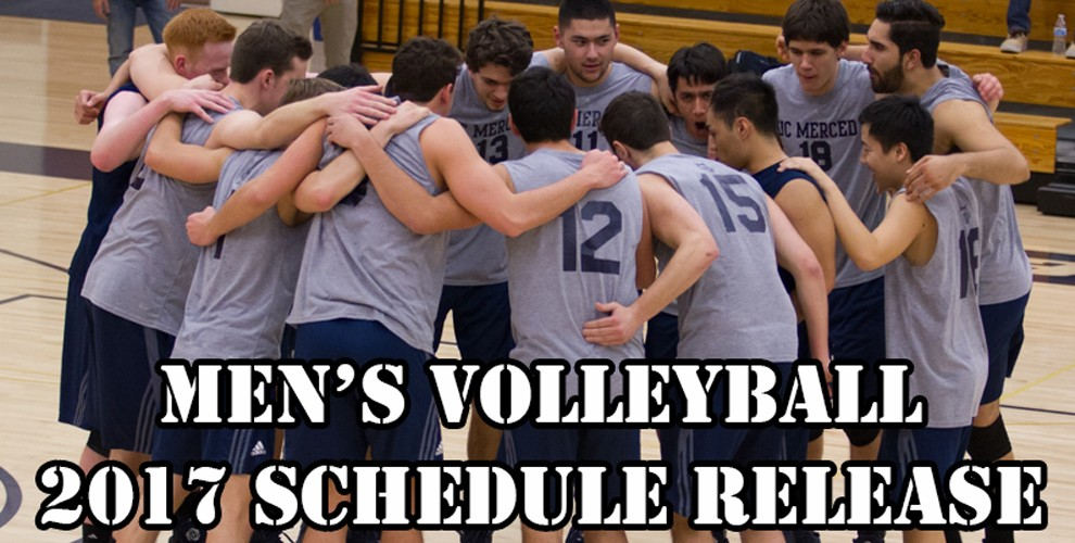 Photo for 2017 Men's Volleyball Schedule Release