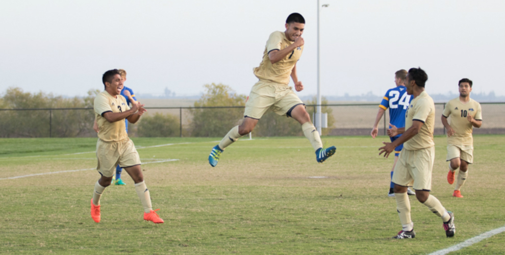 Photo for Men's Soccer Advances To Cal Pac Championship Game