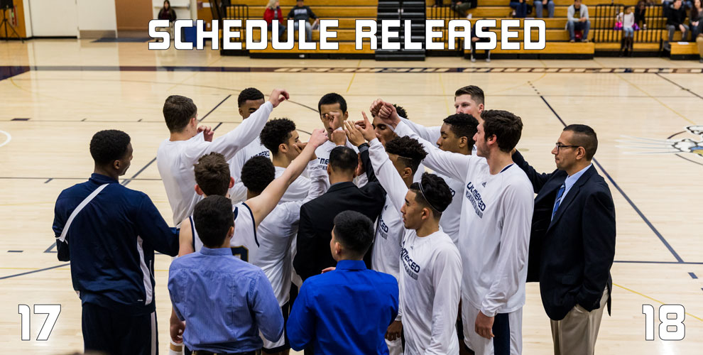 Photo for Men's Basketball 2017-18 Schedule Released