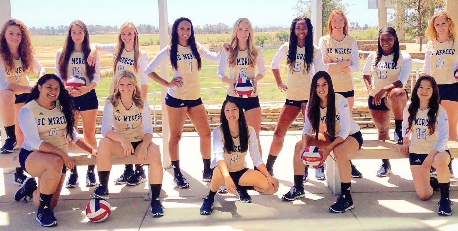 2015 Women's Volleyball Team Photo